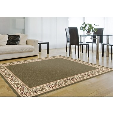 Sensation 4745 Green Transitional Area Rugs