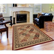 Sensation 4770 Red Traditional Area Rugs