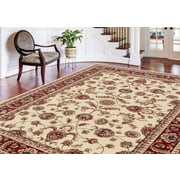 Sensation 4792 Beige Transitional Area Rugs
