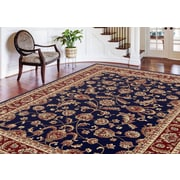 Sensation 4797 Navy Blue Transitional Area Rugs