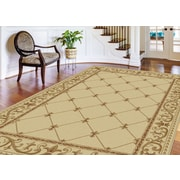 Sensation 4882 Ivory Traditional Area Rugs