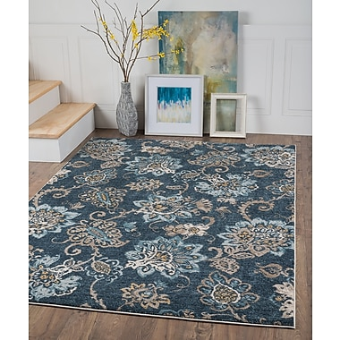 Winslow WNS1207 Navy Area Rugs