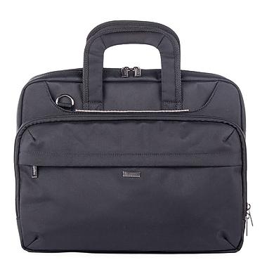 Bugatti Harry Polyester Executive Briefcase, Black