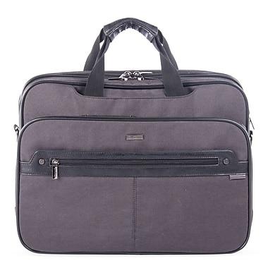 Bugatti Harry Nylon Executive Briefcase, Grey