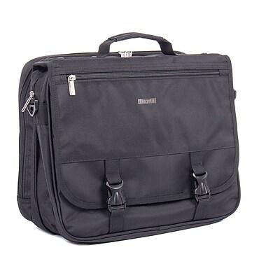 Bugatti Nathan Polyester Executive Briefcase, Black