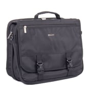 Bugatti Nathan Polyester Executive Briefcase, Black