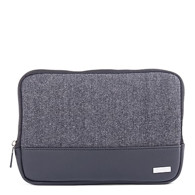 Bugatti Matt Polyester Tablet Sleeve, Black