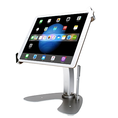CTA Digital Universal Dual Tablet Security Kiosk with Locking Holder & Anti-Theft Cable (PAD-UATP)