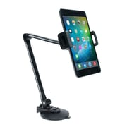 CTA Digital – Bras de support ultraléger pour tablette et téléphone intelligent avec pince et base à ventouse (PAD-UAM)