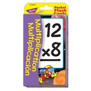 Trend Enterprises® Pocket Flash Card, Multiplication