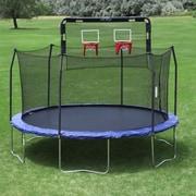 Skywalker Double Basketball Hoop - Fits 12' Round 6 Pole Skywalker Trampoline