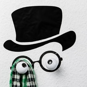Donkey Products Hookly Mister Hookly Professor Decal Wall Hook