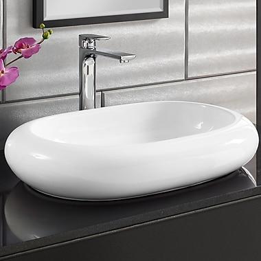 Swiss Madison Plaisir Oval Vessel Bathroom Sink