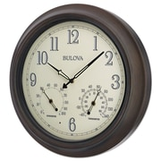 Bulova Weather Master 18'' Wall Clock