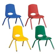 Offex Preschool 26.3'' Classroom Chair (Set of 6)