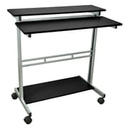 Offex Stand Up Adjustable Laptop Cart