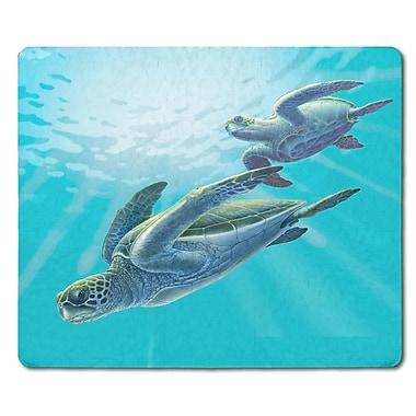 Live Free Sea Turtles Glass Cutting Board