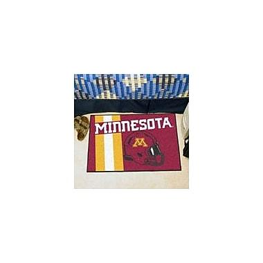 FANMATS NCAA University of Minnesota Starter Mat