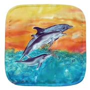 Live Free Dolphins Potholder (Set of 2)