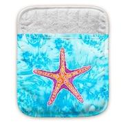 Live Free Starfish Pocket Mitt Potholder (Set of 2)