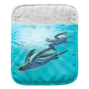 Live Free Sea Turtles Pocket Mitt Potholder (Set of 2)