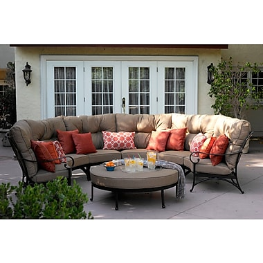 Darby Home Co Lanesville Deep Seating Group w/ Cushions