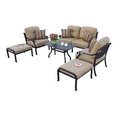 Fleur De Lis Living Lincolnville 6 Piece Deep Seating Group w/ Cushions