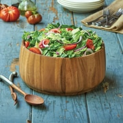 Fox Run Craftsmen Wood Tulip Salad Bowl