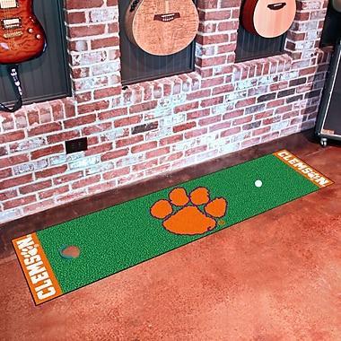 FANMATS NCAA Syracuse University Putting Green Mat; Clemson