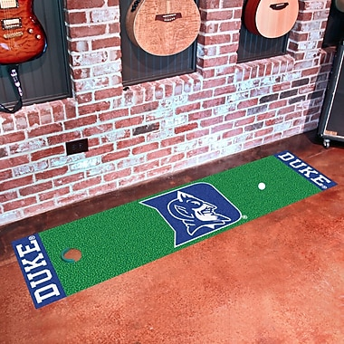 FANMATS NCAA Syracuse University Putting Green Mat; Duke