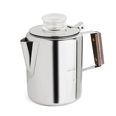 Fox Run Craftsmen 2-3 Cup Rapid Brew Stainless Steel Percolator