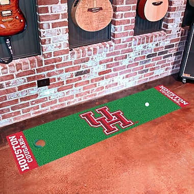 FANMATS NCAA Syracuse University Putting Green Mat; Houston