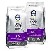 Ethical Bean Whole Bean Coffee, 12 oz, 2/Pack