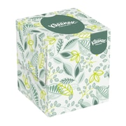 "Kleenex® 8.4"" x 8.4"" Naturals Boutique Facial Tissue, White, 36/Pack"