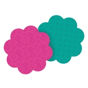 """Post-it® Super Sticky, Die Cut Flower Shaped Notes, 3"""" x 3"""", 2 pads/pack"""