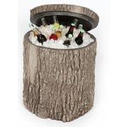 Surreal 90 Quart Oak Stump Cooler