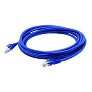 AddOn® Blue 14' RJ-45 Male/Male Cat6A Booted Snagless UTP Patch Cable for Switch