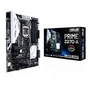 ASUS® Socket H4 LGA-1151 ATX Desktop Motherboard, 64GB DDR4 (PRIME Z270-A)