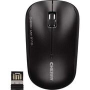 CHERRY Symmetrical 3-Button USB Wireless Mouse with Receiver, Black (MW 2110)