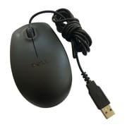 Dell™ 3-Button Optical USB Wired Mouse, Black (9RRC7)