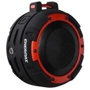 Enermax® EAS03 O'marine Outdoor Portable Bluetooth Speaker, Black/Red