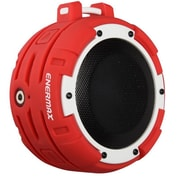 Enermax® EAS03 O'marine Outdoor Portable Bluetooth Speaker, White/Red