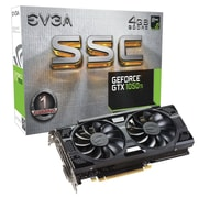 EVGA® NVIDIA GeForce® GTX™ 1050 Ti SSC GDDR5 PCI-E 3.0 16x Gaming Graphic Card, 4GB, Black (04G-P4-6255-KR)