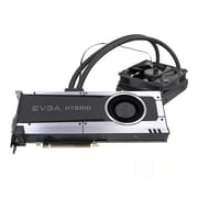EVGA® NVIDIA GeForce® GTX™ 1070 Hybrid GDDR5 PCI-E 3.0 16x Gaming Graphic Card, 8GB, Black (08G-P4-6178-KR)