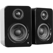 Kanto YU2 2-Way Powered Desktop Speaker, Glossy Black