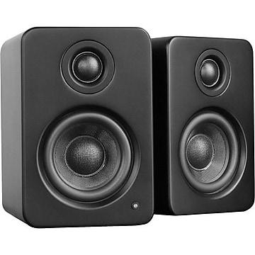 Kanto YU2 2Way Powered Desktop Speakers, Matte Black