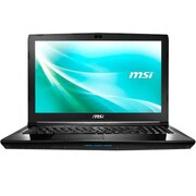 "msi® CX62 7QL-058 15.6"" Notebook, LCD, Core i5-7200U, 1TB HDD, 8GB RAM, WIN 10 Pro, Black"