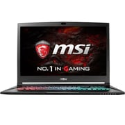 "msi® GS73VR Stealth Pro-224 17.3"" Notebook, LCD, Core i7-7700HQ, 2TB HDD/256GB SSD, 16GB RAM, WIN 10 Home, Black"
