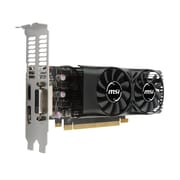 msi® NVIDIA GeForce® GTX™ 1050 GDDR5 PCI-E 3.0 16x Graphic Card, 2GB, Black (GTX 1050 2GT LP)