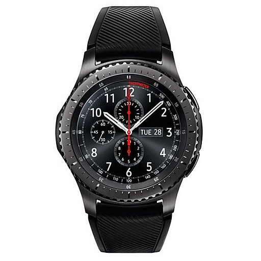 d6af4ea3048 Samsung Gear S3 Frontier Silicone Stainless Steel Smart Watch